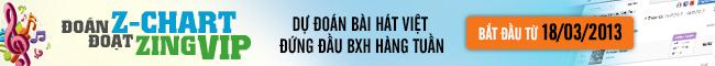 Dự đoán BXH Bài hát Việt Nam